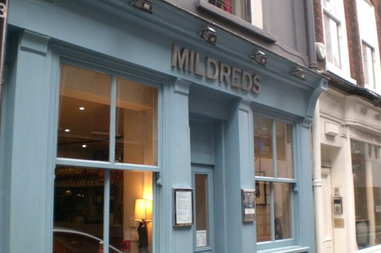 Mildred's: Mildreds Frontage.