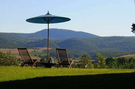 Siena House: A Tuscan Panorama : Our Position Gives 360 Degree Views including Hills, Hill Towns & Farms