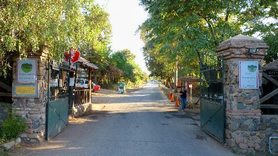 Santiago, Cile: Entrada a la Comunidad Ecológica