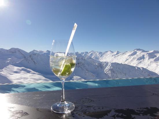 Hotel Gotthard-Zeit: Top mountain gimmlet