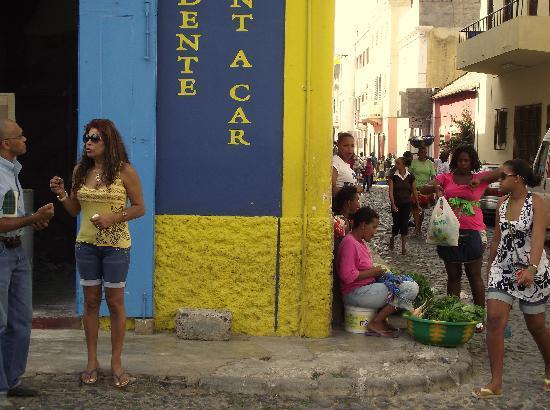 Mindelo, Kap Verde: Praça Estrela