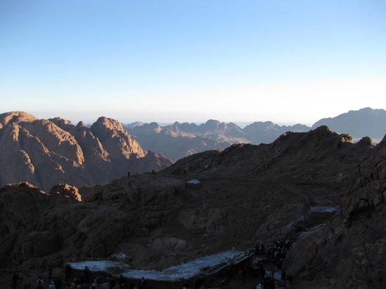 Mount Sinai: Snow and some ice