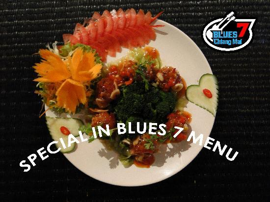 BLUES 7 Chiang Mai: Delicious Thai Western fusion food