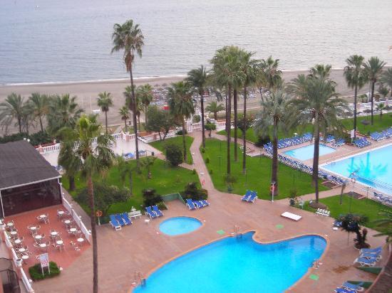 Hotel Best Tritón: la vue du balcon