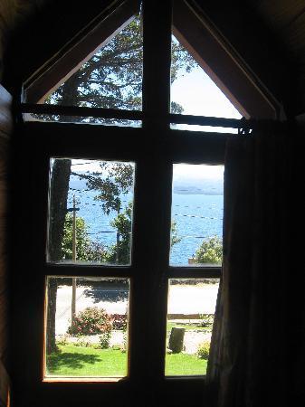 Bungalows El Bosque de los Elfos: vista desde la habitación del bungalow