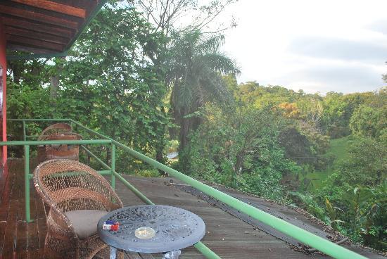 Didi's Bed & Breakfast: Balcon de chambre