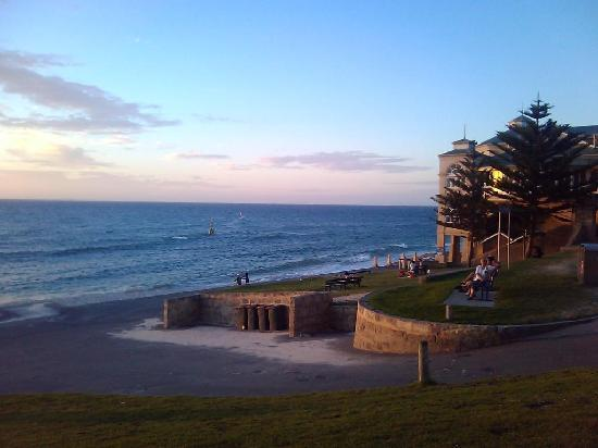 Famous building/Change rooms of Cottesloe