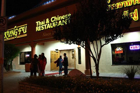Kung Fu Thai Chinese Restaurant Street View Of Vegas Restaurants