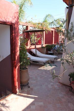 Riad Honey Sarl: Beautiful peaceful roof terrace