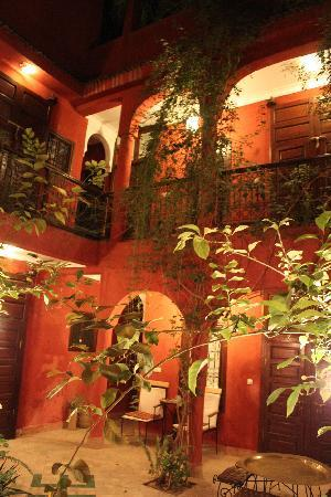 Riad Honey Sarl : View up to rooms