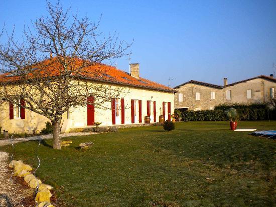 Domaine de Blaignac: Bâtisse