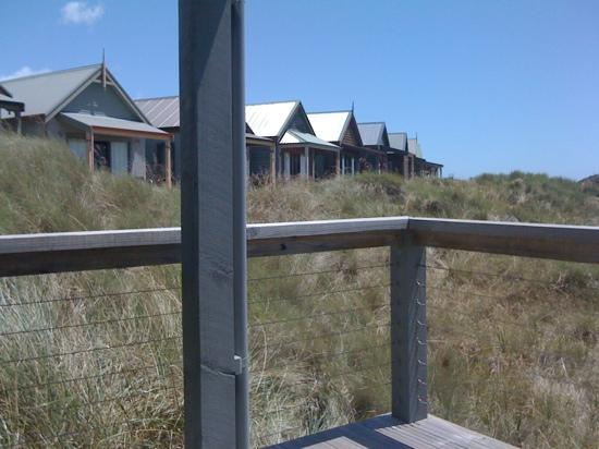 Barnbougle Dunes Cottages: from cottage balcony