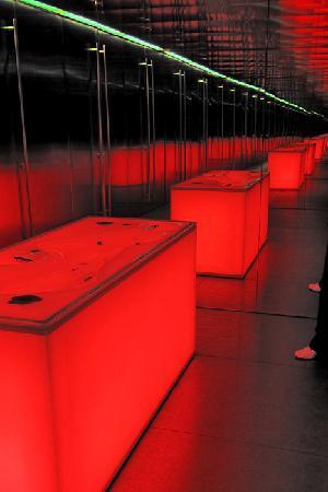 MACRO - Museo d'Arte Contemporanea: toilets by Odile Decq