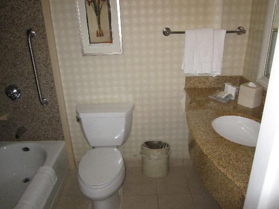 Hilton Garden Inn Palmdale: Badezimmer