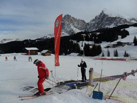 Hotel Saltria - true alpine living: Una lezione di sci