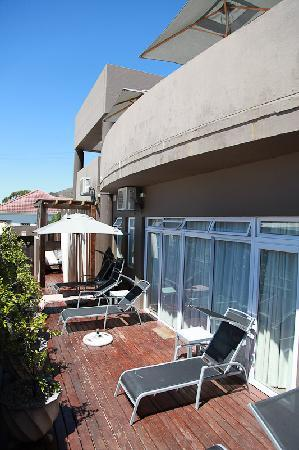 O on Kloof Boutique Hotel & Spa: Bain de soleil