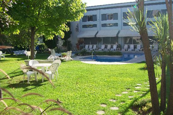 Hotel Garden: jardin