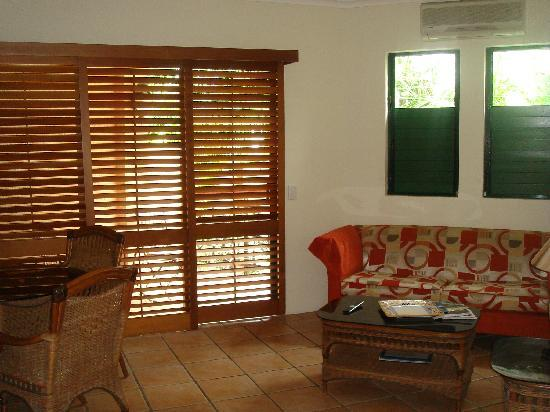 Martinique on Macrossan: Sitting room