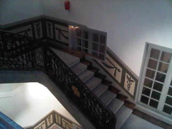Anne d'Anjou : Escalier