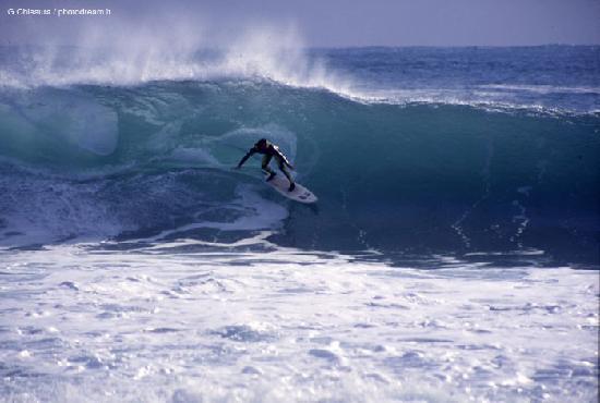 Zenti Arrubia: Il surf a Capomannu
