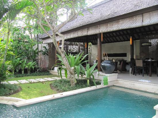Villa Air Bali Boutique Resort & Spa: View from the bedroom