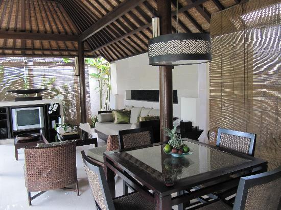 Villa Air Bali Boutique Resort & Spa: View from the dining area