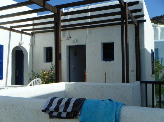 Teo Hotel: camera  col terrazzino