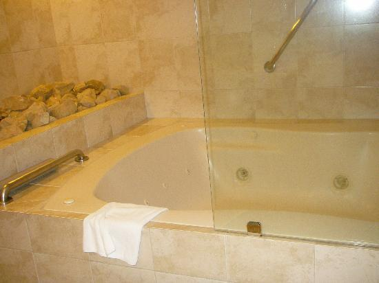 Hotel Presidente: Jucuzzi tub and heavely shower
