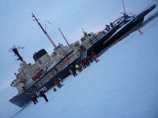 Kemi, Finland: Eisbrecher 1