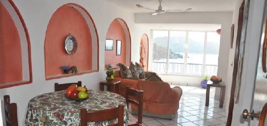 Paraiso Suites : Living area