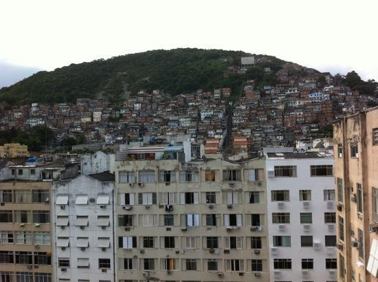 South American Copacabana Hotel: the view from the 10th floor rooms