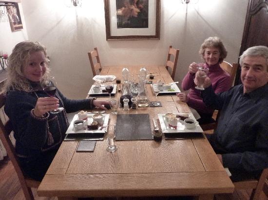 Villa Portillon: Dinnertime!