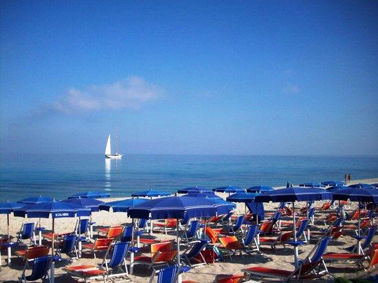 Zambrone, Italia: La spiaggia