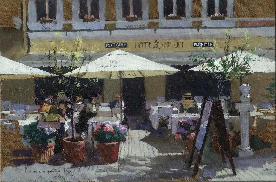 Cafe des Artistes : Terrace