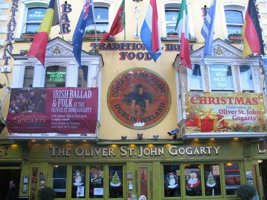 Oliver St. John Gogarty's酒吧