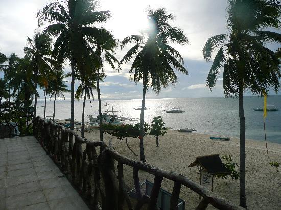 Malapascua Legend: Aussicht Terrasse, Suite