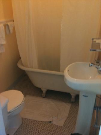 The Dakota Hotel: Il bagno - okkio agli scarichi!