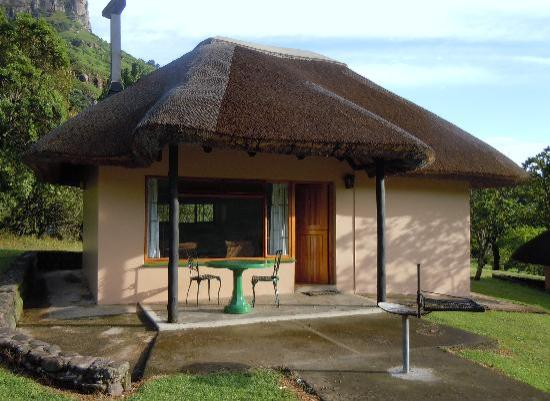Thendele Hutted camp: Our Thendele hut