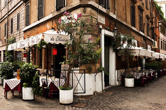Osteria Ponte Sisto : An ancient corner of Paradise...