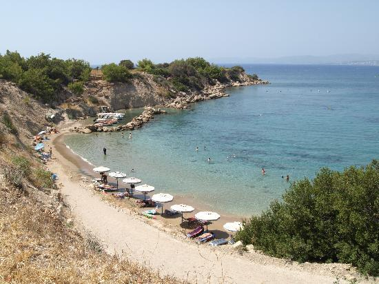 Small kavos beach picture of pefkos village resort for Small beach hotels