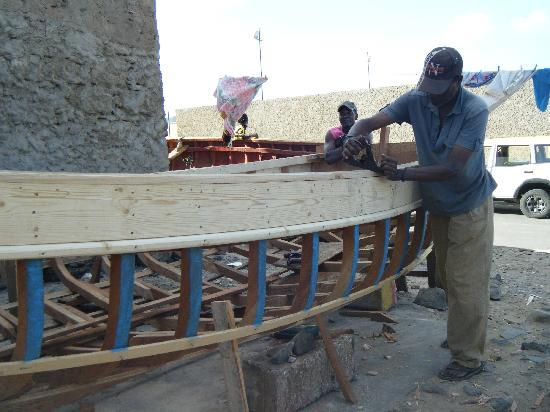 Residencial Goa: Construction d'un bateau de pêche