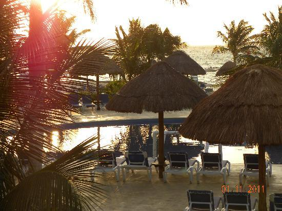 Sandos Caracol Eco Resort : View from our room