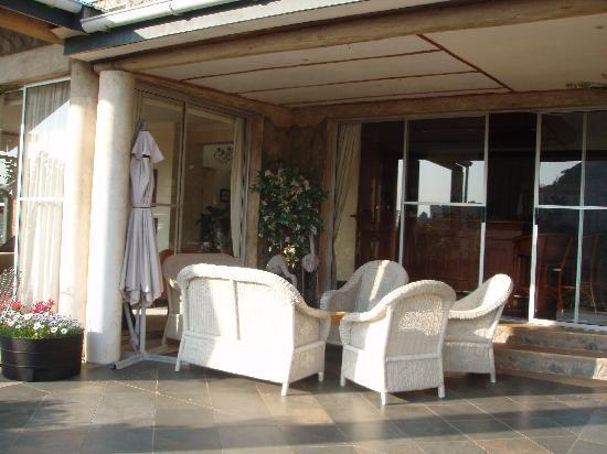 Mbabane, Swaziland: Balcony