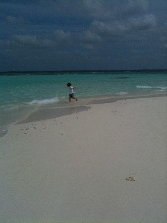 """Kuda Funafaru Resort and Spa: la nostra """"spiaggia privata"""""""