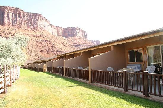 Red Cliffs Lodge : autres terrasses