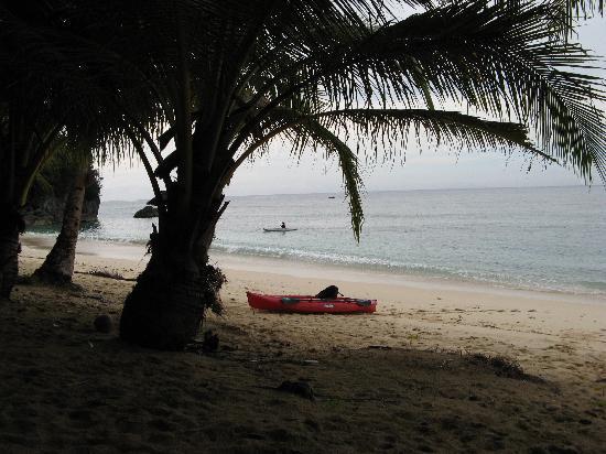 CK - Inn: Beach near the Inn