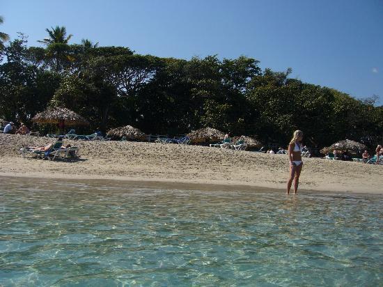 VH Gran Ventana Beach Resort: plage de l'hotel