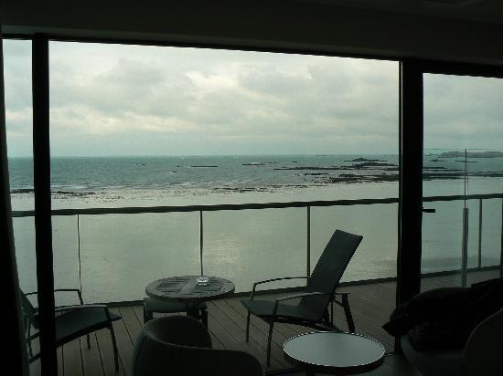 Hotel Oceania Saint Malo : la vue de la chambre Evasion