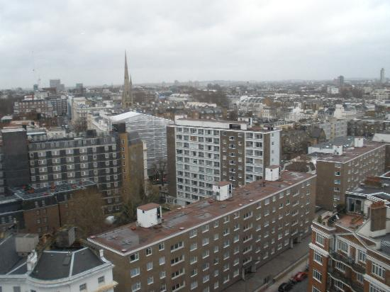 Royal Lancaster London: VIEW FROM 18th FLOOR