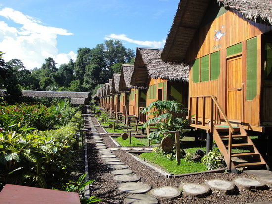 Tambopata National Reserve, Peru: Lodges for guests